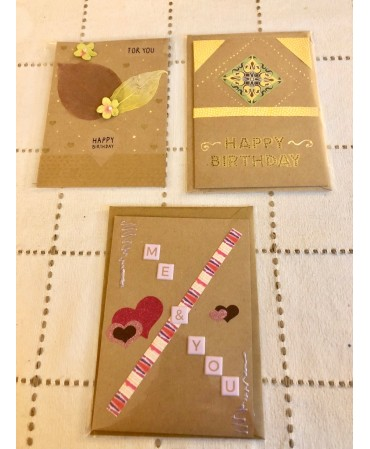 Unique pieces of cards,...