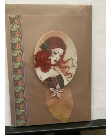 Unique [iece of card, handmade
