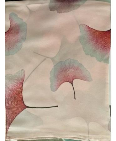 Laser print 100% Silk scarf