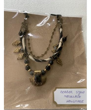 Handmade necklace morroco...