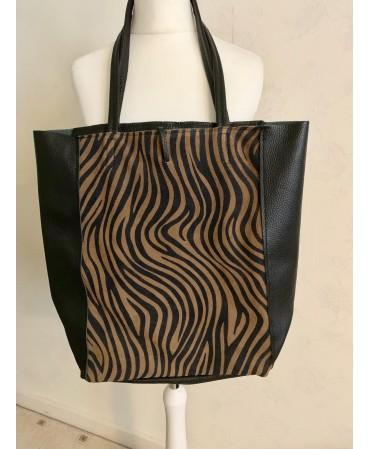 Ladies leather(print)fancy bag